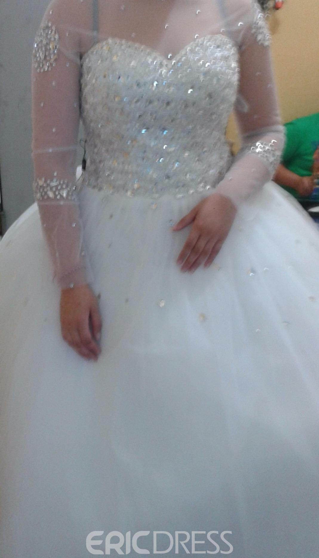 Ericdress Reviews-Ericdress Luxury Sweetheart Beading Ball Gown ...