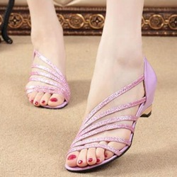 Ericdress Charming Hollow Out Flat Sandals
