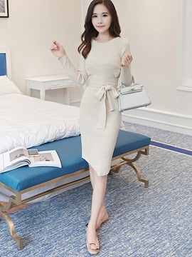 Ericdress Ladylike Knitwear Leisure Suit