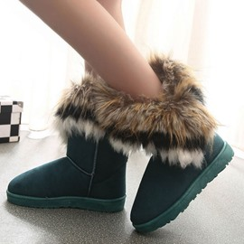 Ericdress Cheap Warm Furry Snow Boots