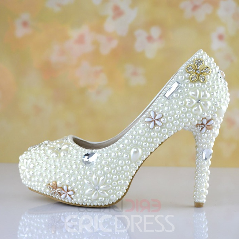 Ericdress Delicate Crystal Wedding Shoes