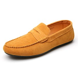 Ericdress Plain Square Toe Low-Cut Men's Moccasin-Gommino