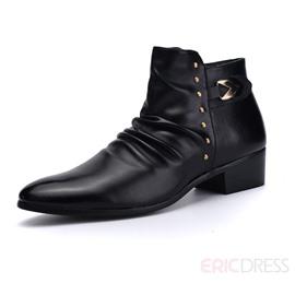 Ericdress Point Toe Martin Boots