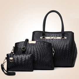 Ericdress Cool Croco-Embossed Handbags(3 Bags)