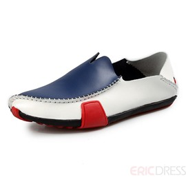 Ericdress Patchwork Slip on Men's Loafers