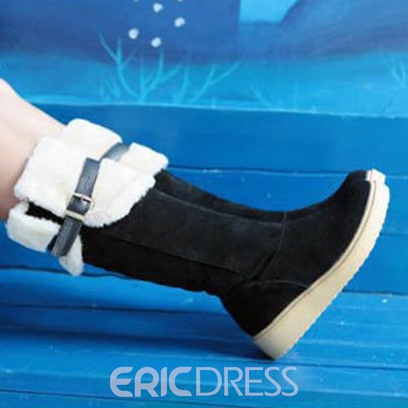 Ericdress Korean Snow Knee High Boots