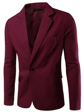 Chaqueta Ericdress multicolor Simple Casual hombres