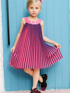 Ericdress Sleeveless Girls Dress