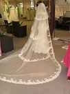 Ericdress Charming Layers Lace Edge Long Bridal Veil