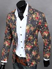 Ericdress Floral Print Vogue Casual Men's Blazer