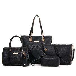 Ericdress todo partido rombo en relieve Handbags(6 Bags)