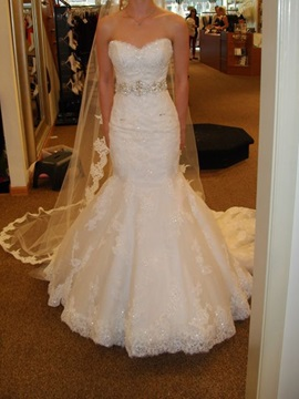 Ericdress Appliques Sweetheart Mermaid Wedding Dress