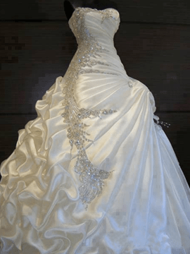 Ericdress Exquisite Ball Gown Beading Wedding Dress