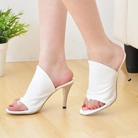 Ericdress Roman Thong Stiletto Slippers