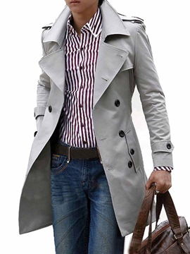 Fashion Trench Coats for Men Sale Online - Ericdress.com