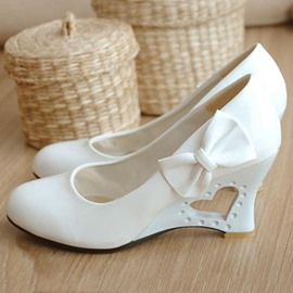 Ericdress Bowknot Embellished Evening/wedding Shoes