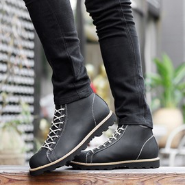 Ericdress Lace up Martin Boots