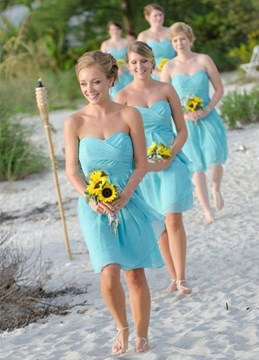 Ericdress Beautiful Sweetheart A Line Bridesmaid Dress