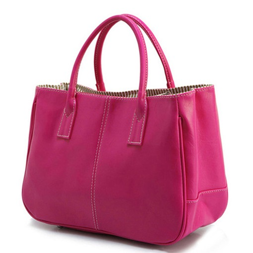 Simple Style Casual Women Handbag