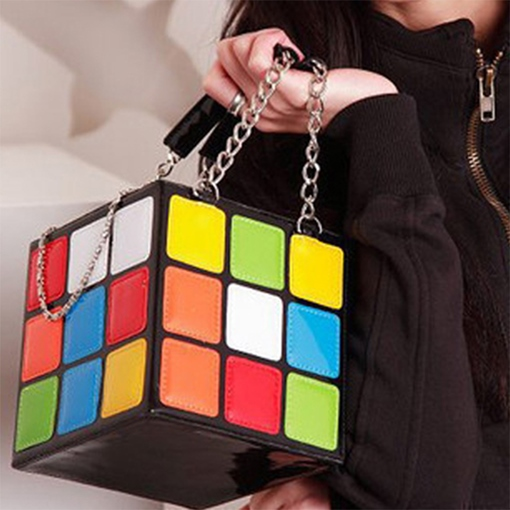 Ericdress Magic Cube Design Handbag