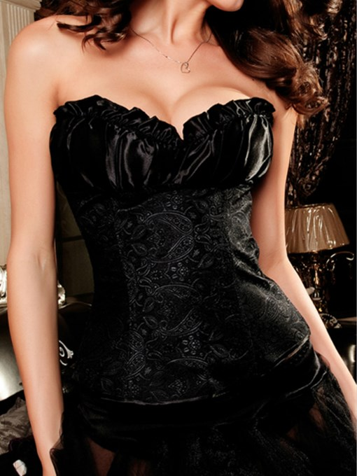 Elegant Hot-Selling Sexy Embroidery Corset