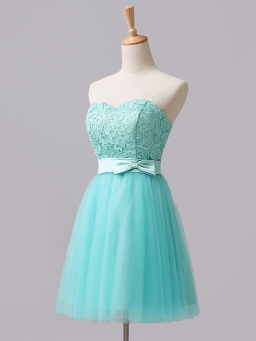 Pretty Sweetheart Lace Bridesmaid Dress