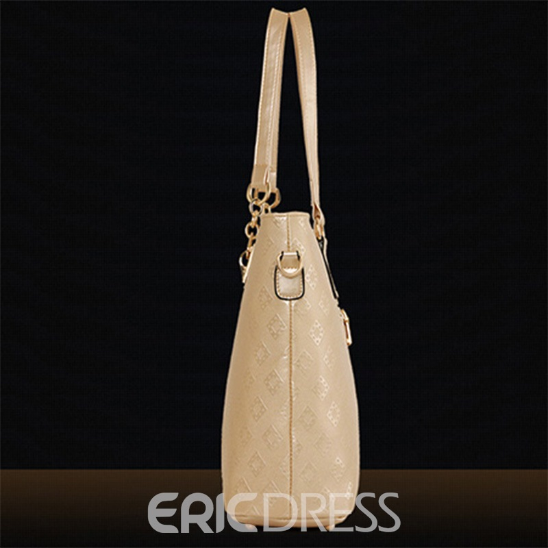 Ericdress All Match Rhombus Embossed Handbags(6 Bags)
