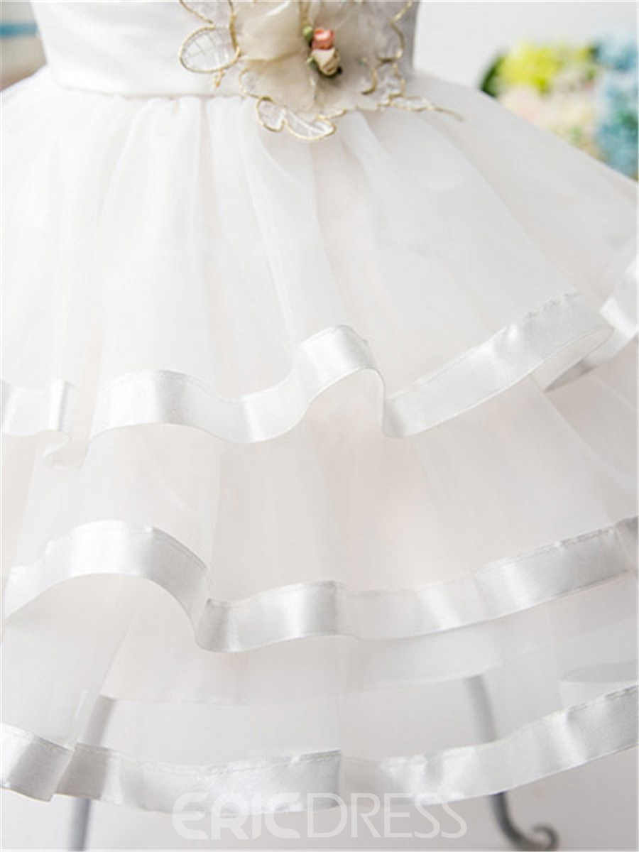 Ericdress Mesh Ball Gown Girls Dress