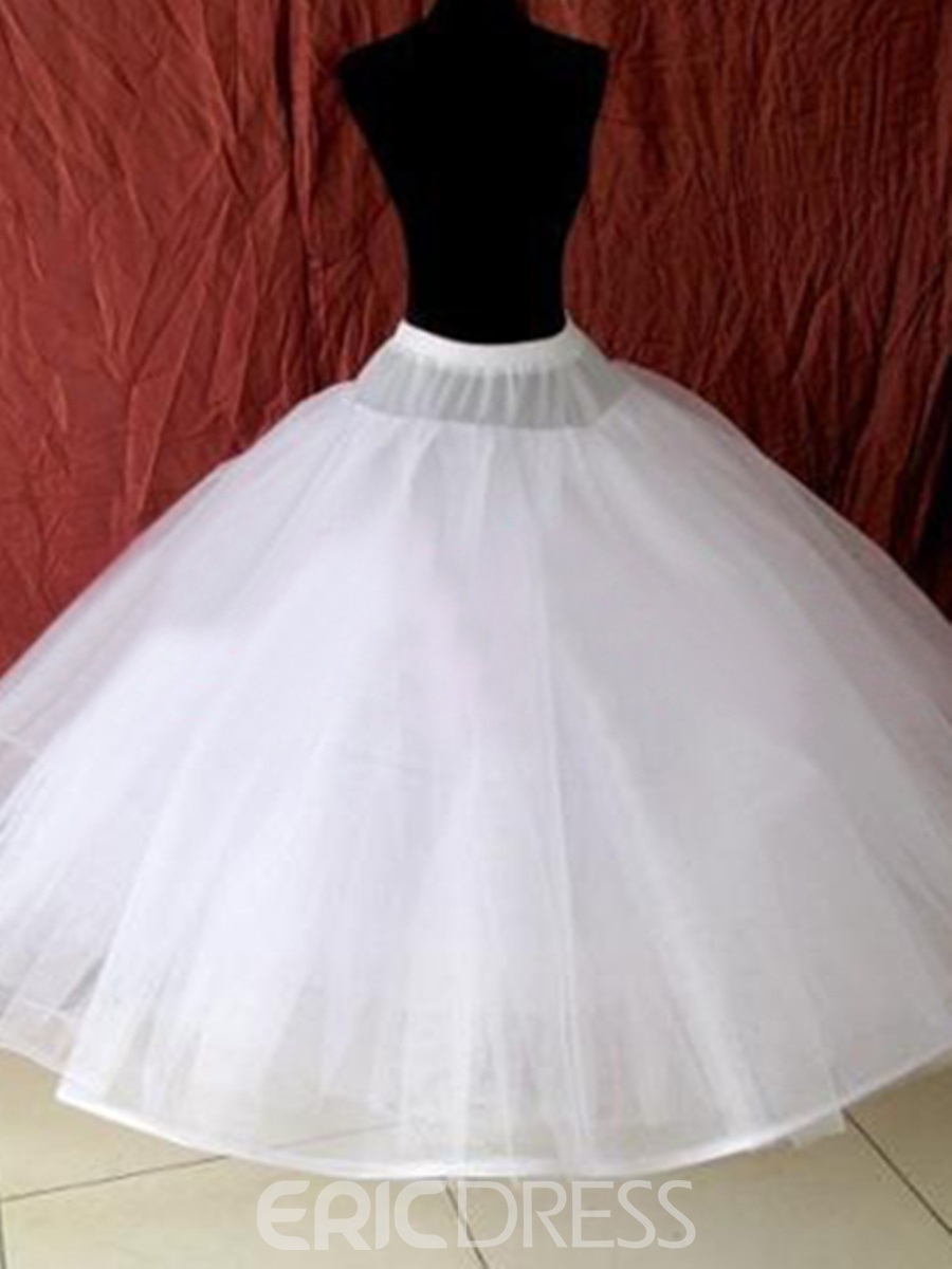 Fluffy Three Layers Gauza Wedding Petticoat