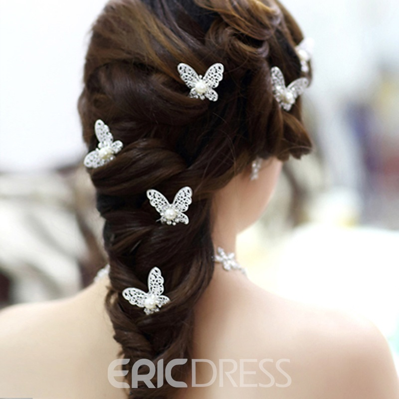 Gorgeous Butterfly Shape Bride Headwear (The Picture Is Pluri- Plusieurs)
