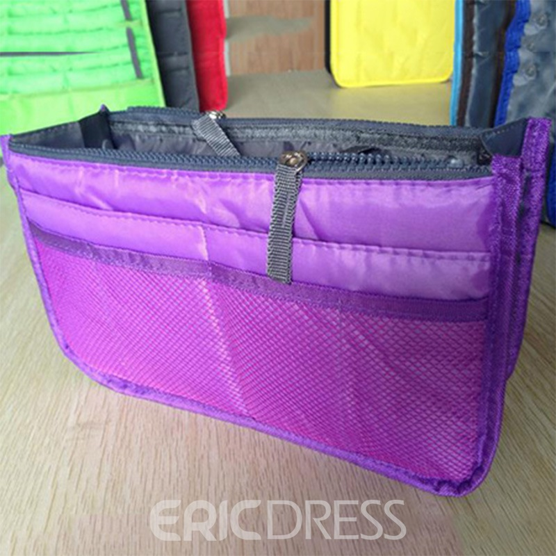 Ericdress High Quality Double Zipper Cosmetic Bag