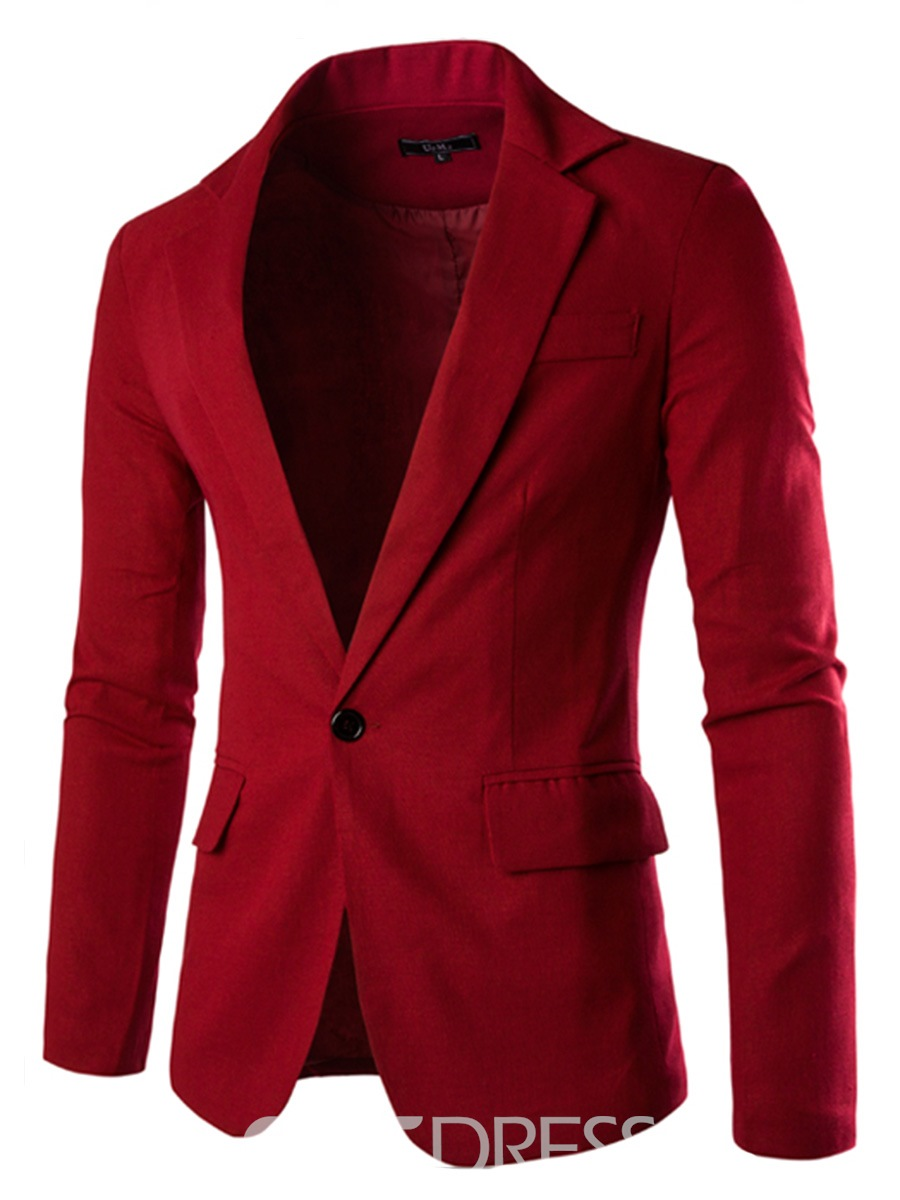 Ericdress Multi-Color Slim Men's Blazer