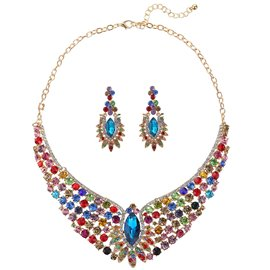 Ericdress New Style Crystal Flower Jewelry Set for Women