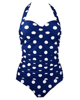 Ericdress Polka Dots Vogue Halt Monokini