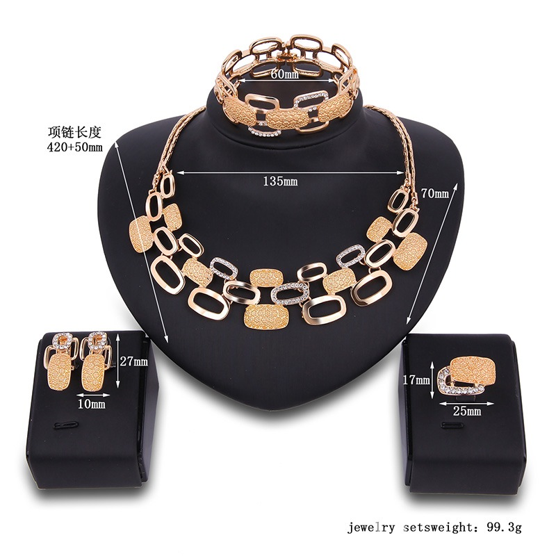 Ericdress High-End Four-Piece Women's Jewelry Set