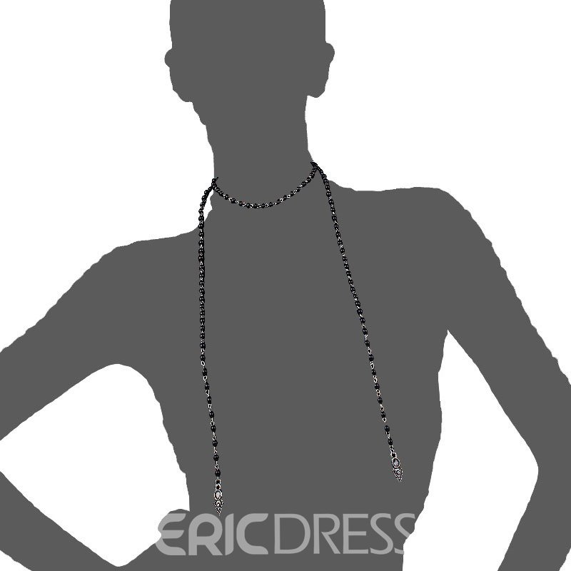 Ericdress Simple Handmade Beaded Necklace