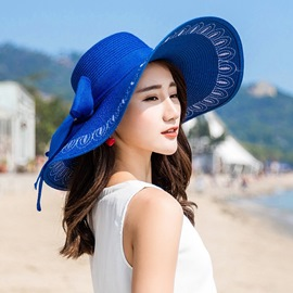 Ericdress pliable summer beach sunhat