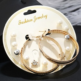 Ericdress Elegant Alloy Stud Earring for Women