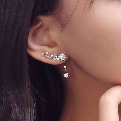 Ericdress Shining Diamante Ear Cuff for Women