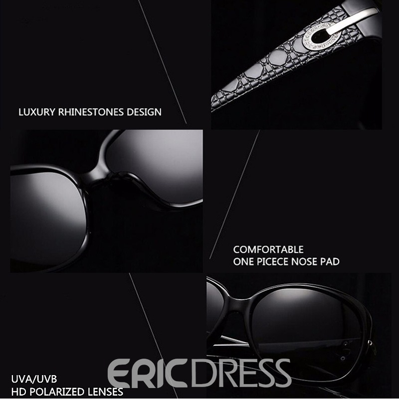 Ericdress Luxury Rhinestone Sunglasses For Women