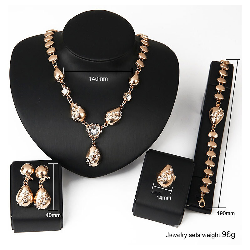 Ericdress Classic Alloy Diamante Women's Jewelry Set