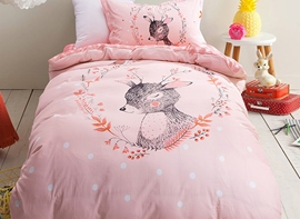 Vivilinen Deer Pattern 3-Piece Kids Duvet Covers/Bedding Sets