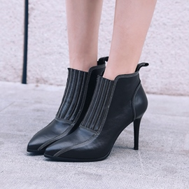 Ericdress Fashionable Slip-On Stiletto Heel Boots