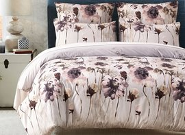 Vivilinen Wash Painting Printed Polyester 3-Piece Bedding Sets/Duvet Cover