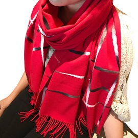 Ericdress Cashmere-Like Grid Warm Women's Scarf