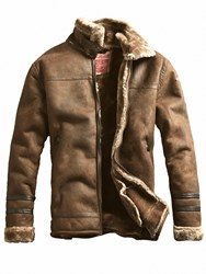 Ericdress Lapel Plain Thick Small Size Mens Coat Jacket With Patches Sewn