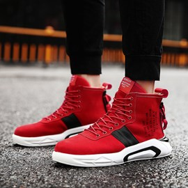Ericdress Chic Print Lace-Up Men's Athletic Shoes