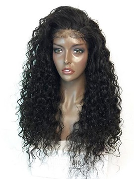 Ericdress Kinky Curly Long Loose Capless Cap Synthetic Hair Wigs 24 Inches