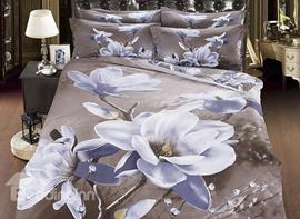 Vivilinen Pure Flower Print 3D Bedding Sets