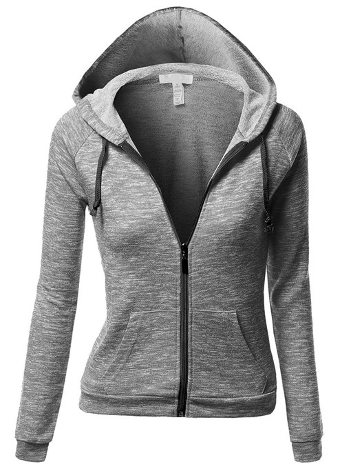 Ericdress Cotton Blends Casual Cool Hoodie